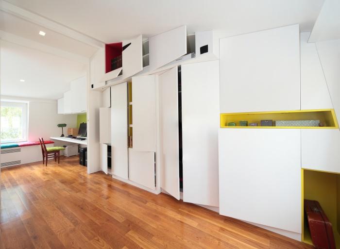 surélévation pavillon / MAISON R : PPIL grand meuble2