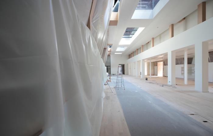 Aménagement combles Hôtel de Ville : chantier