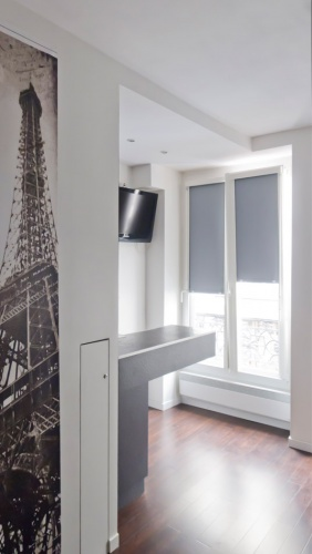 Studio de 15m² à Bastille pour location saisonnière : entrée