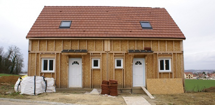 Construction de 2 pavillons