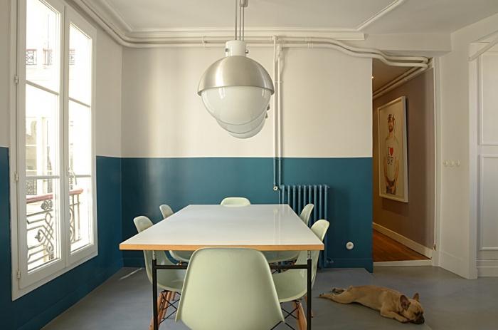 appartement la fayette paris paris une r alisation de texier soulas. Black Bedroom Furniture Sets. Home Design Ideas
