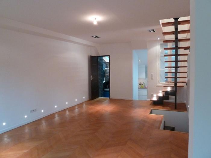 réhabilitation et restructuration d'une maison dans Paris