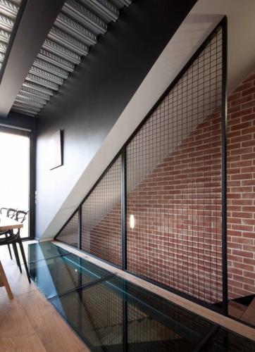 architectes maison de ville contemporaine saint ouen saint ouen. Black Bedroom Furniture Sets. Home Design Ideas