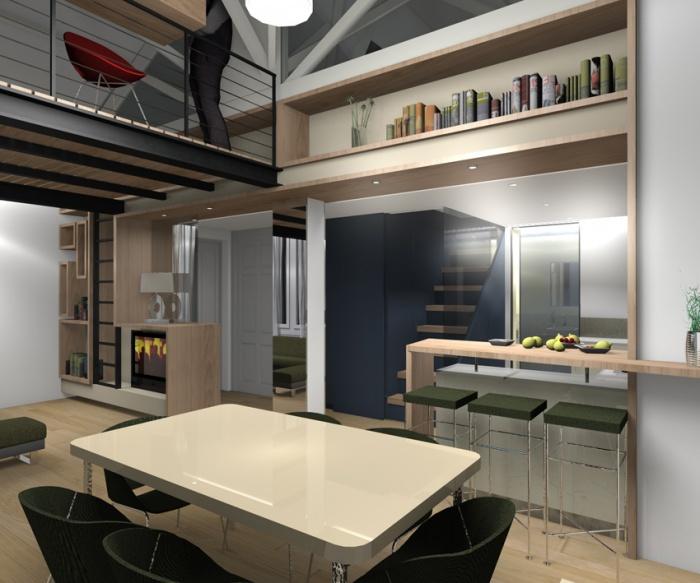 Réhabilitation Appartement + Combles