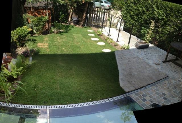 Excavation souplex F : Jardin
