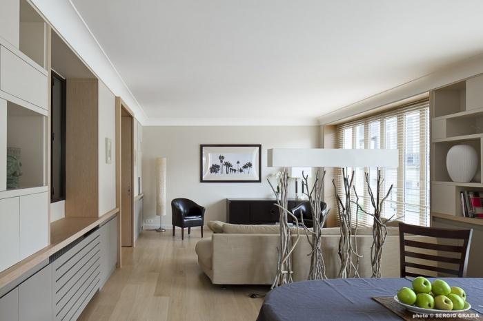 appartement auteuil paris paris une r alisation de texier soulas. Black Bedroom Furniture Sets. Home Design Ideas