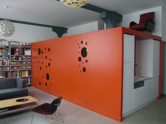 Restructuration d'un plateau de bureaux en loft
