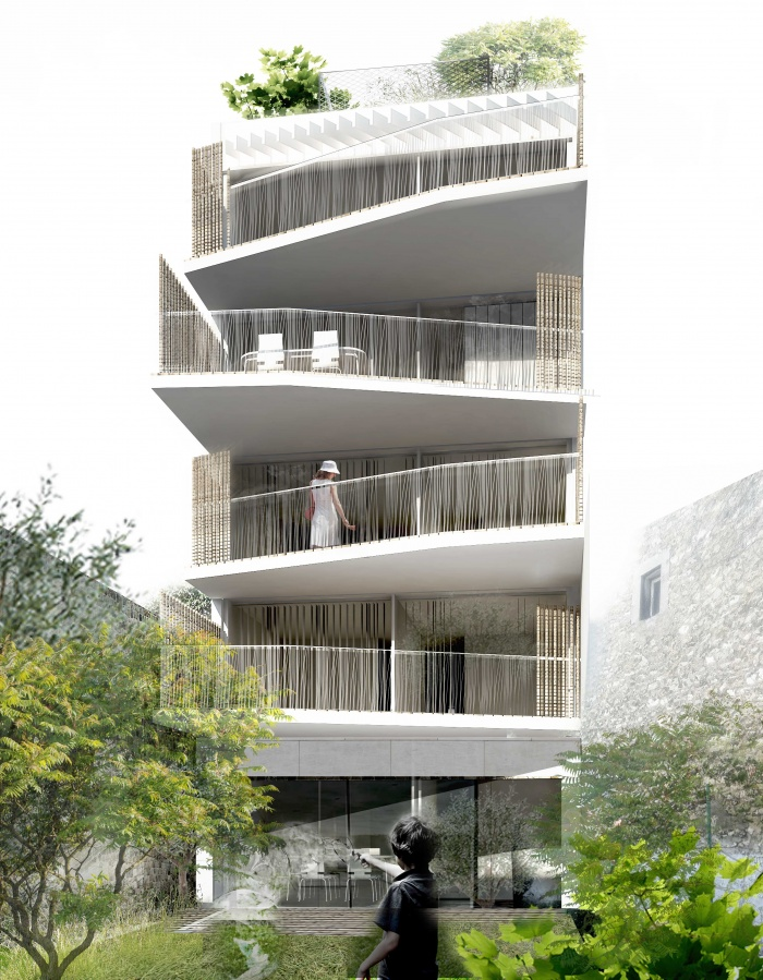 collectif 5 logements vanves une r alisation de berengere giaux architecture. Black Bedroom Furniture Sets. Home Design Ideas
