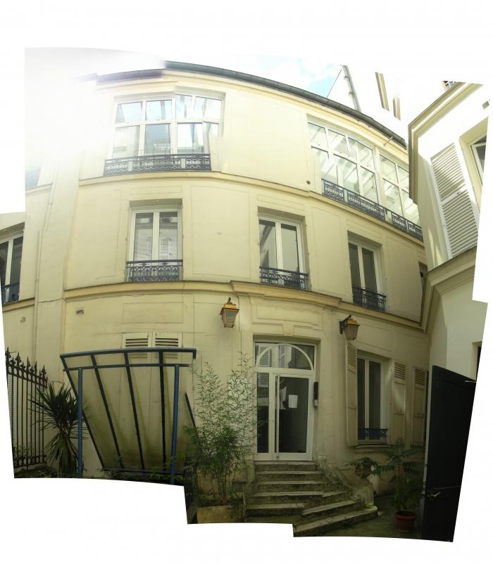 Hôtel pour artistes à Paris