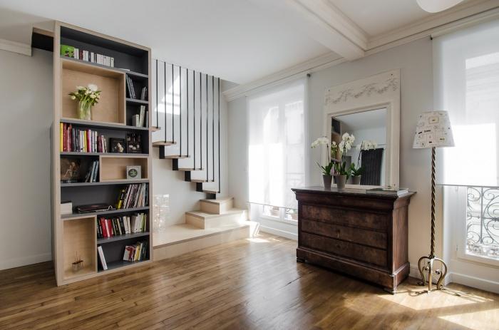 architectes appartement pe paris. Black Bedroom Furniture Sets. Home Design Ideas