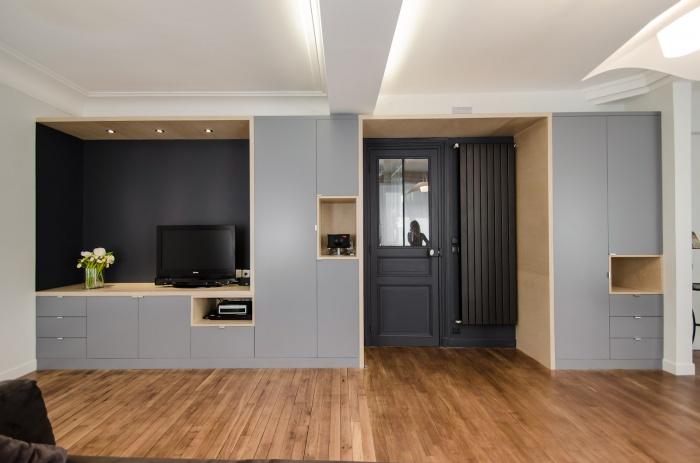 Appartement PE : Le meuble-rangement