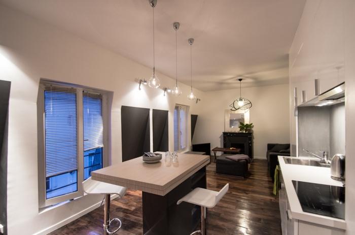 Appartement AP : La table bar