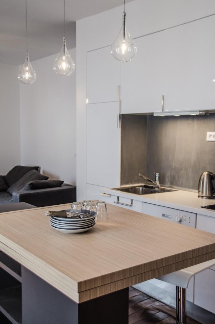 Appartement AP : Détail de la cuisine
