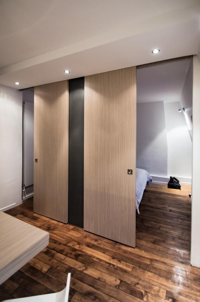 Appartement AP : Les panneaux coulissants
