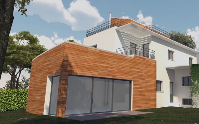 Maison écologique en monomur : champ03