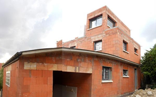 Maison écologique en monomur : champ00