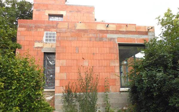 Maison écologique en monomur : champ01