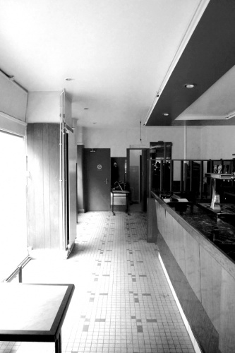 Hanging bar : Avant
