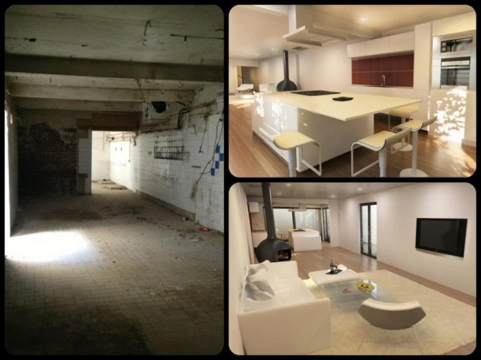 Architectes r novation r habilitation d 39 un local commercial - Vivre dans un local commercial ...