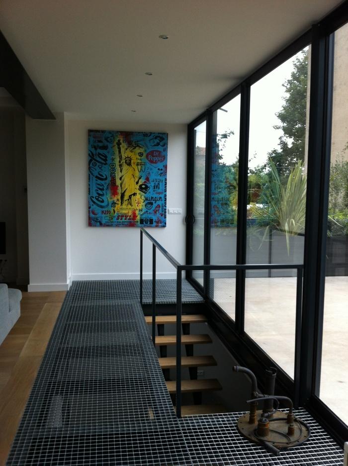 Extension et rénovation d\'une maison en meulière à Saint-Cloud : une ...