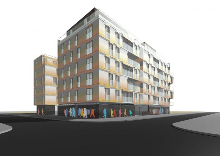 immeuble de logements pour cadres
