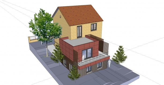 Extension et réhabilitation d'une maison individuelle