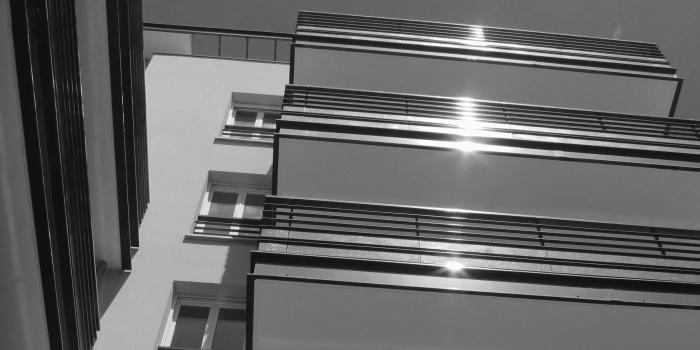 68 logements collectifs : Détail balcon