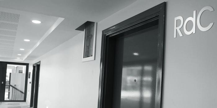 68 logements collectifs : Intérieur Hall A