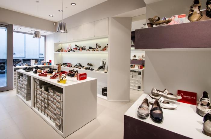 Boutique de chaussures vincennes une r alisation de - Magasin chaussure quimper ...