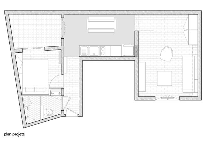 East of Eden – rénovation d'un appartement