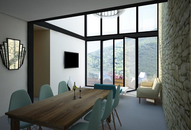 Le Guépard – conception d'une maison familiale : le-guepard-conception-maison-corse-architecture-interieur-image03