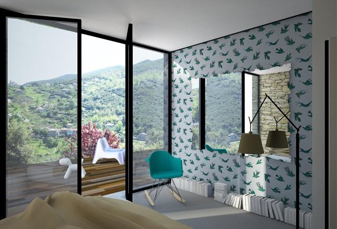Le Guépard – conception d'une maison familiale : le-guepard-conception-maison-corse-architecture-interieur-image01