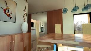 Maison moderniste bois : Intérieur 2