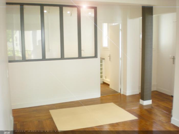 renovation totale d 39 un appartement de 65m2 paris une r alisation de adn architecte. Black Bedroom Furniture Sets. Home Design Ideas