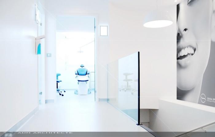 Architectes renovation totale d 39 un cabinet - Cabinet dentaire design ...
