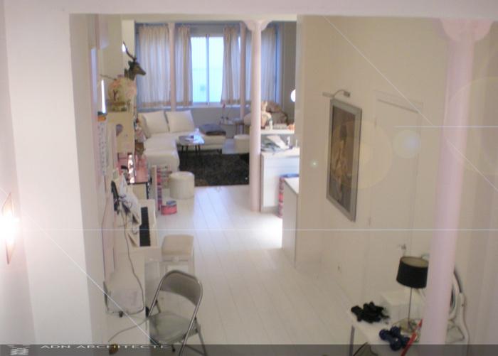 rehabilitation d 39 un local commercial en loft d 39 habitation paris une r alisation de adn. Black Bedroom Furniture Sets. Home Design Ideas
