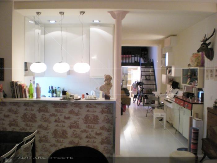architectes rehabilitation d 39 un local. Black Bedroom Furniture Sets. Home Design Ideas
