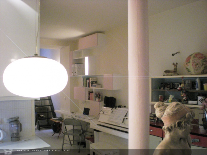 rehabilitation d 39 un local commercial en loft d 39 habitation. Black Bedroom Furniture Sets. Home Design Ideas