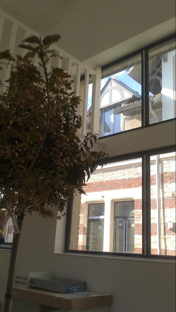 architectes r habilitation 10 logements avec parking couvert clamart. Black Bedroom Furniture Sets. Home Design Ideas