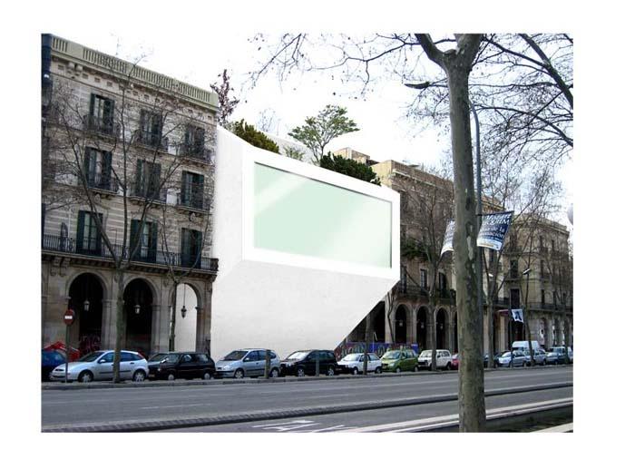 Un monolithe lumineux au cœur de Barcelone : image_projet_mini_6466