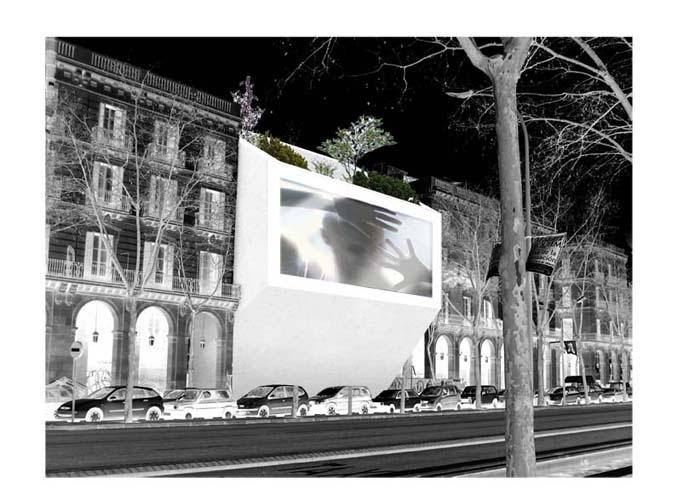 Un monolithe lumineux au cœur de Barcelone
