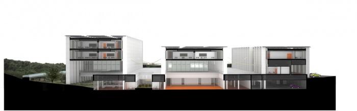 Une école ouverte : Section_Perspective-F5-1-N copie