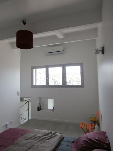 réhabilitation d'une maison individuelle_Marseille 8ème : vue chambre étage