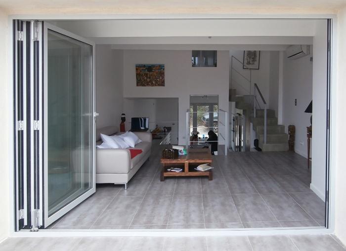 réhabilitation d'une maison individuelle_Marseille 8ème : vue depuis terrasse