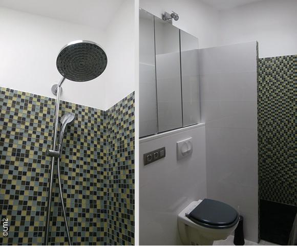 réhabilitation d'une maison individuelle_Marseille 8ème : salle d'eau étage