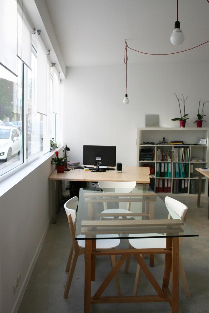 aménagement d'un local de bureaux_Paris 20ème : vue 1