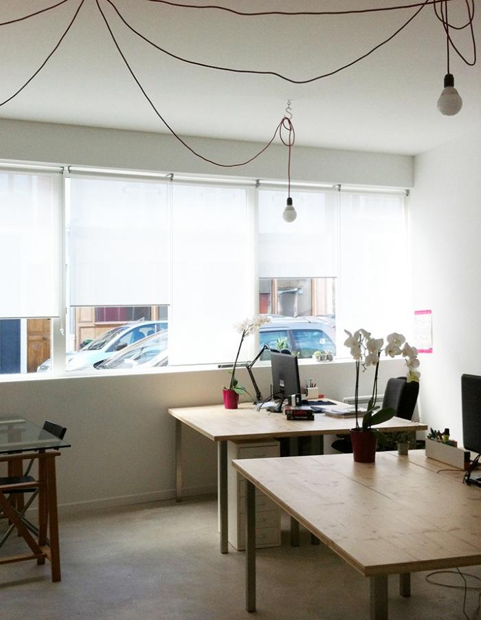 aménagement d'un local de bureaux_Paris 20ème