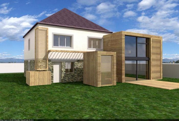 architectes extension bois champigny sur marne. Black Bedroom Furniture Sets. Home Design Ideas
