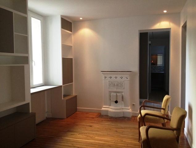 Architectes restructuration appartement paris for Architecte appartement paris