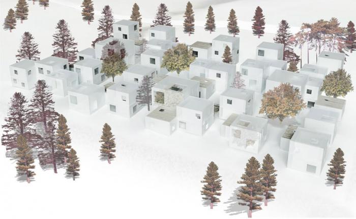 32 logements individuels expérimentaux passifs & équipements